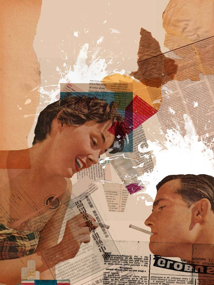 Collage digital de arian behzadi