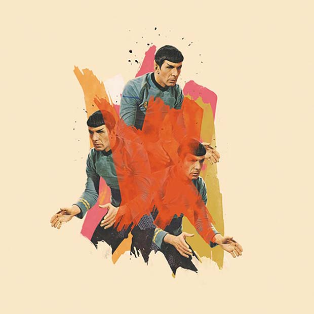 Arian-Behzadi collage spook star trek