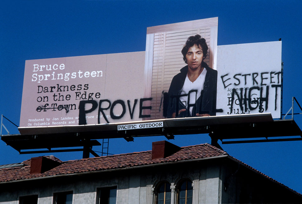 BruceSpringsteen sunset strip