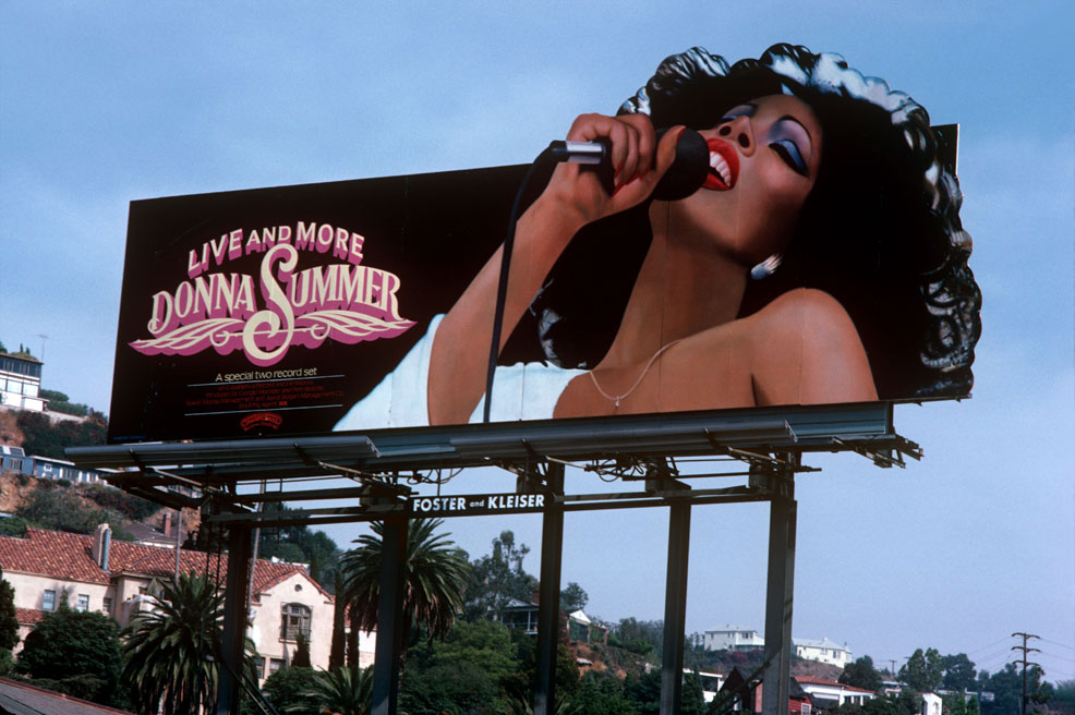 DonnaSummer sunset strip