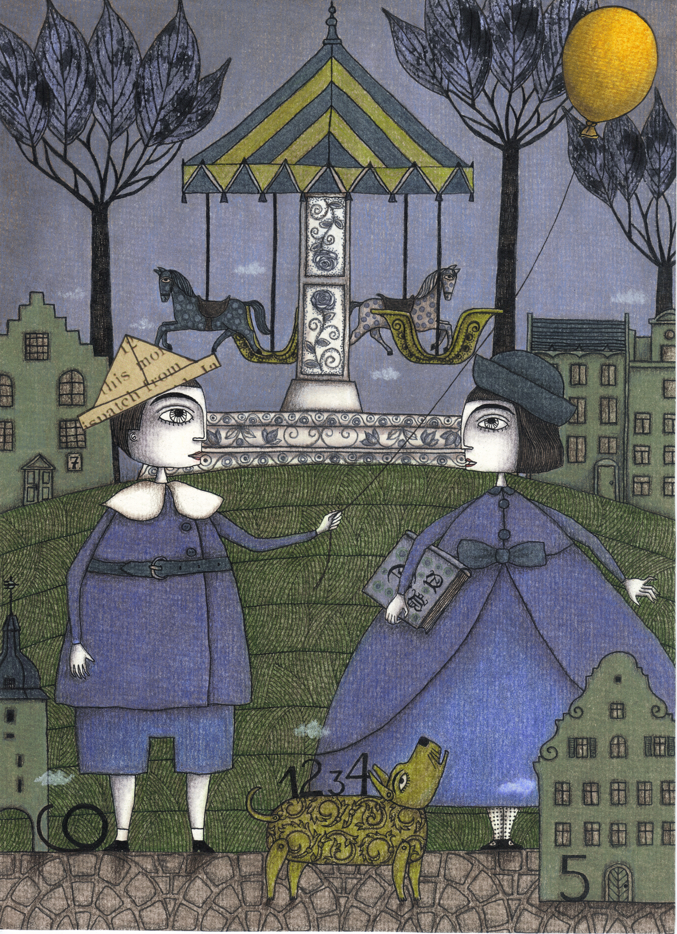 Judith Clay illustration 9