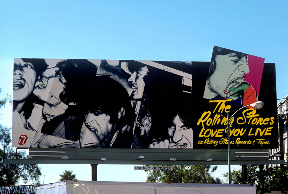 RollingStones sunset strip