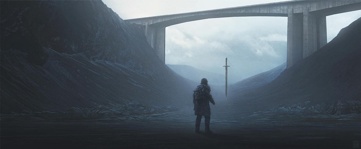 Yuri Shwedoff illustration scifi