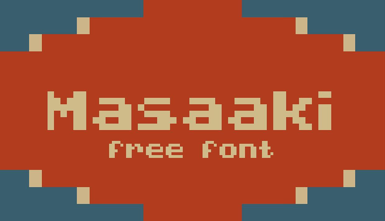 masaaki free font 1