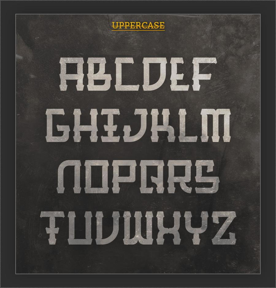 Barque free font 2