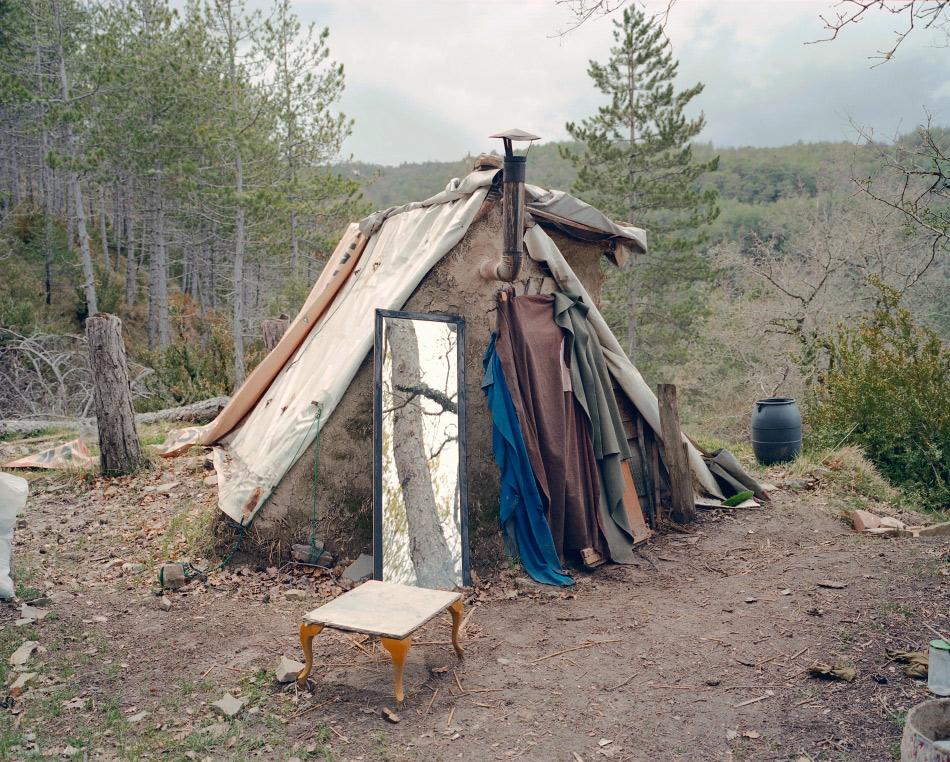 imagen de una cabaña en españa