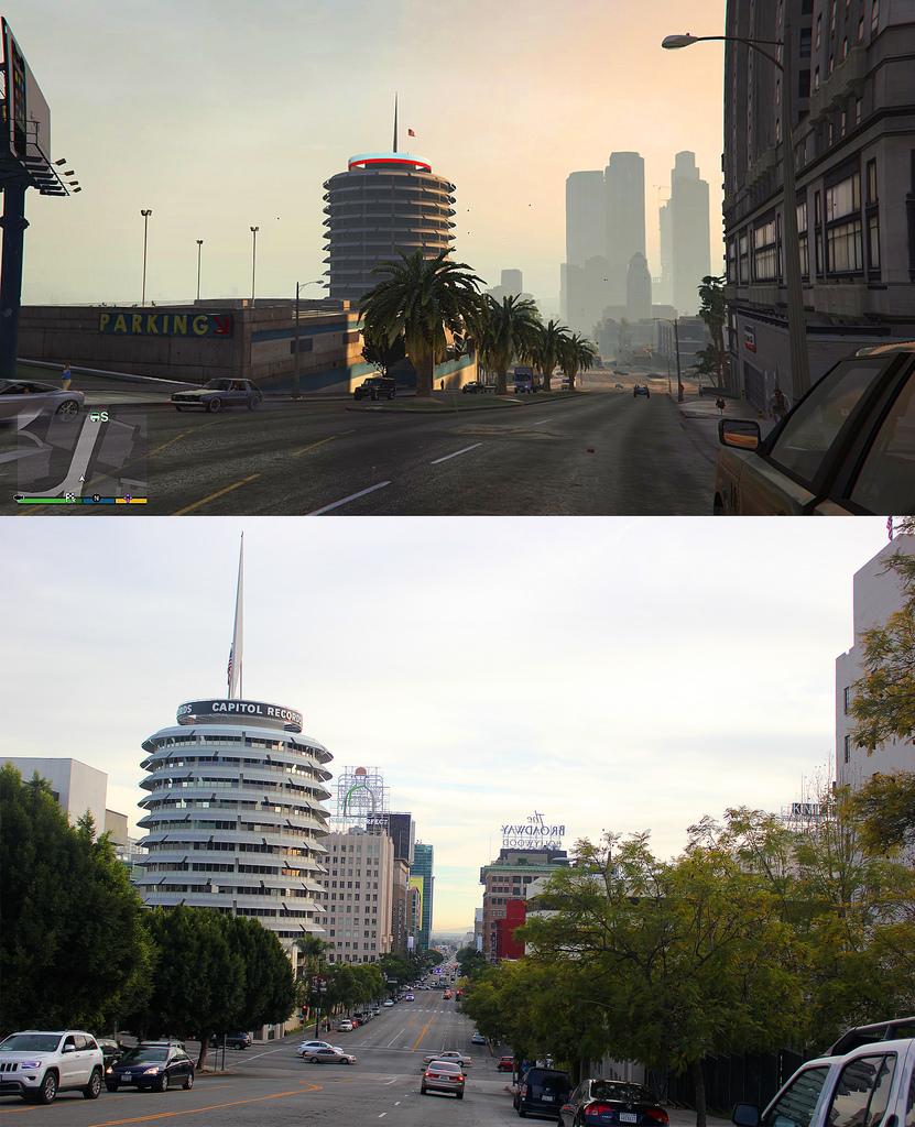 GTA V VS LOS ANGELES 2