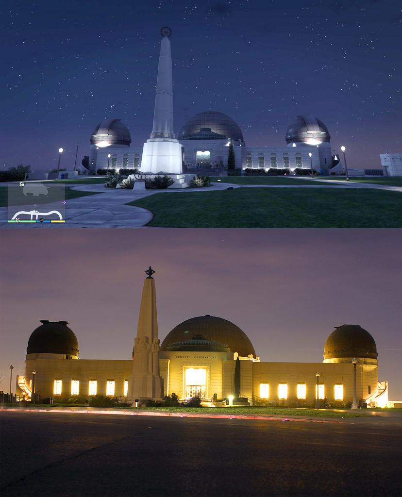 GTA V VS LOS ANGELES 3