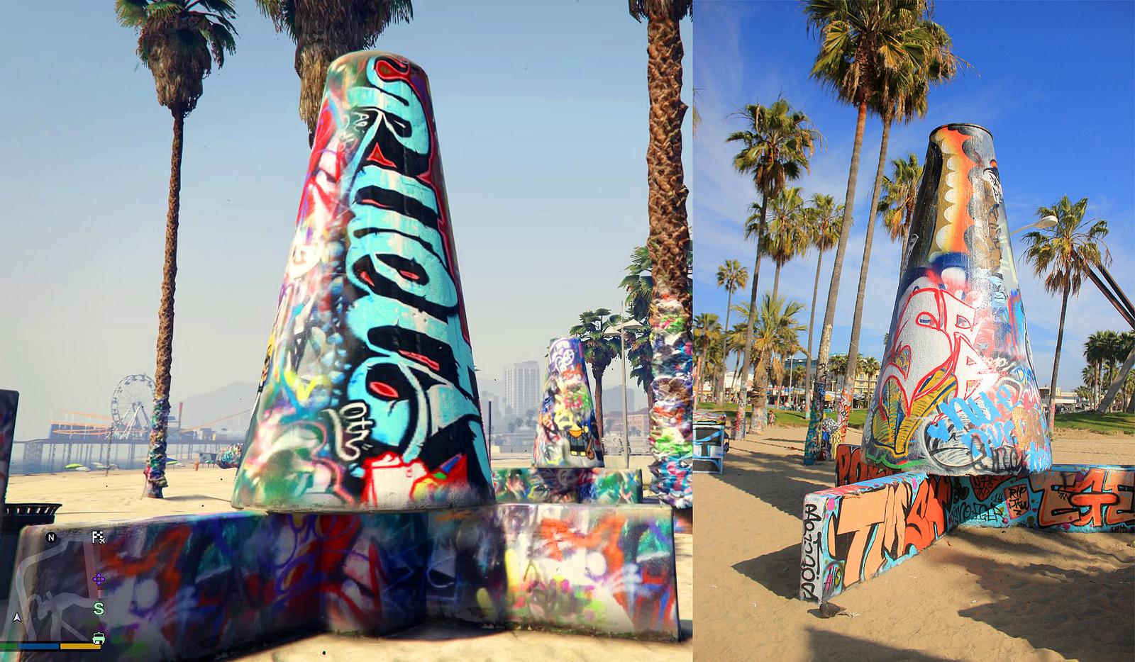 GTA V VS LOS ANGELES 8