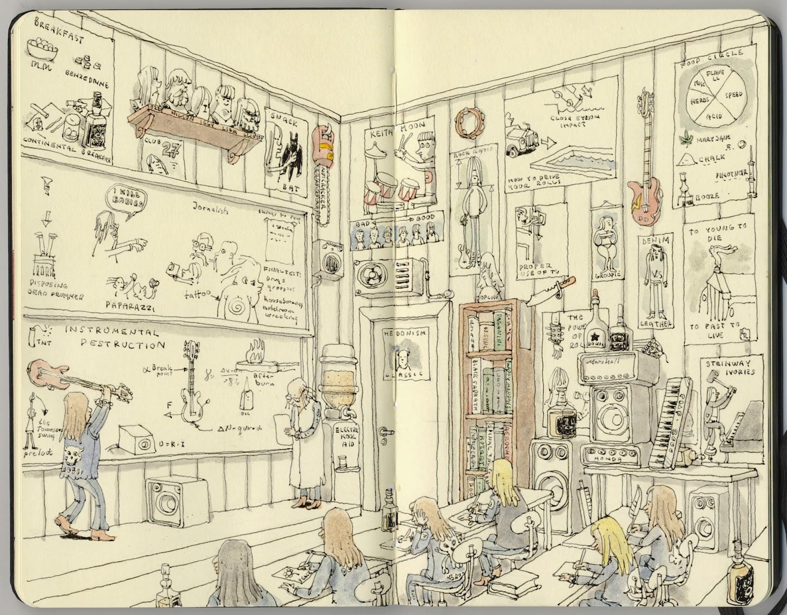 Mattias Adolfsson sketch illustration 11