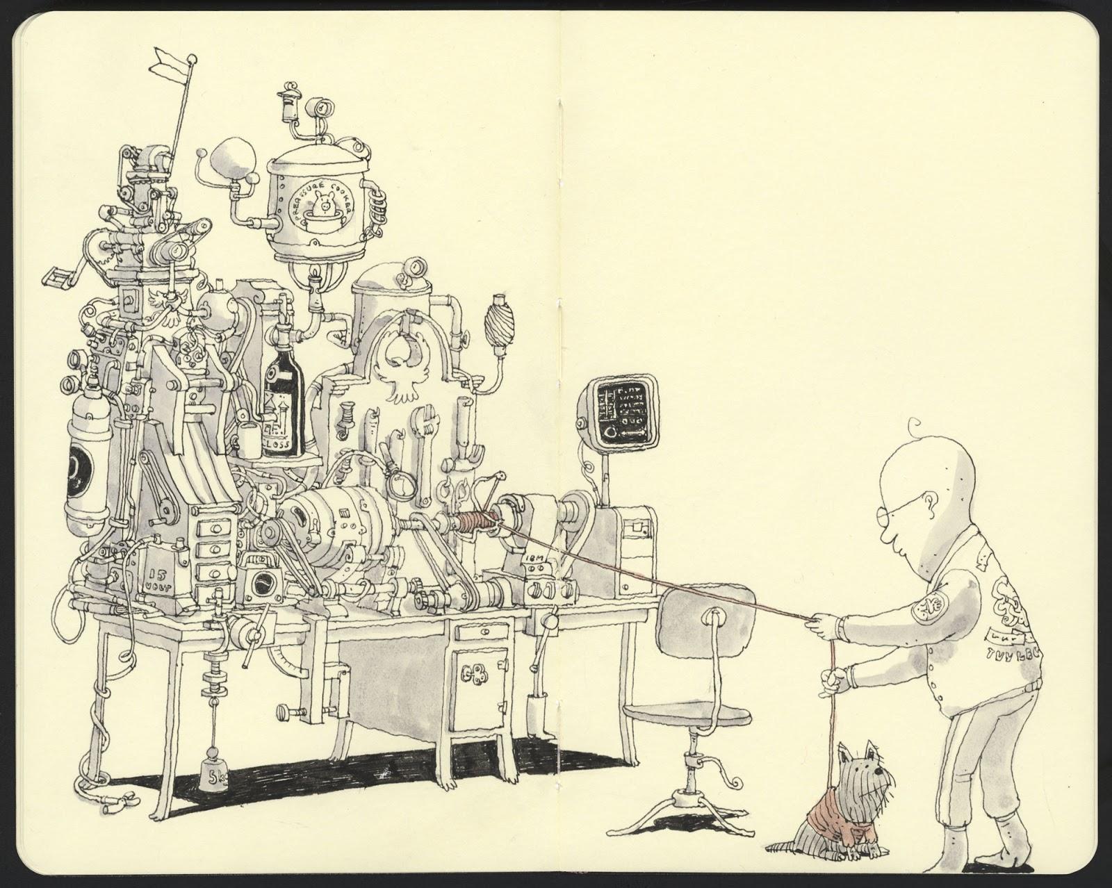 Mattias Adolfsson sketch illustration 6