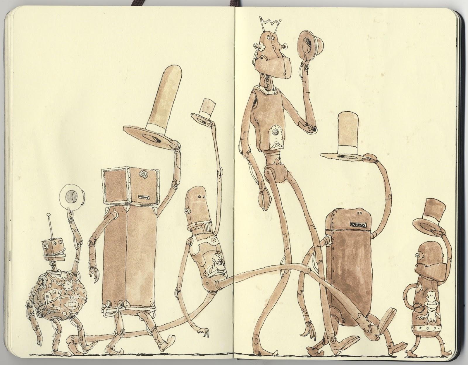 Mattias Adolfsson sketch illustration 8