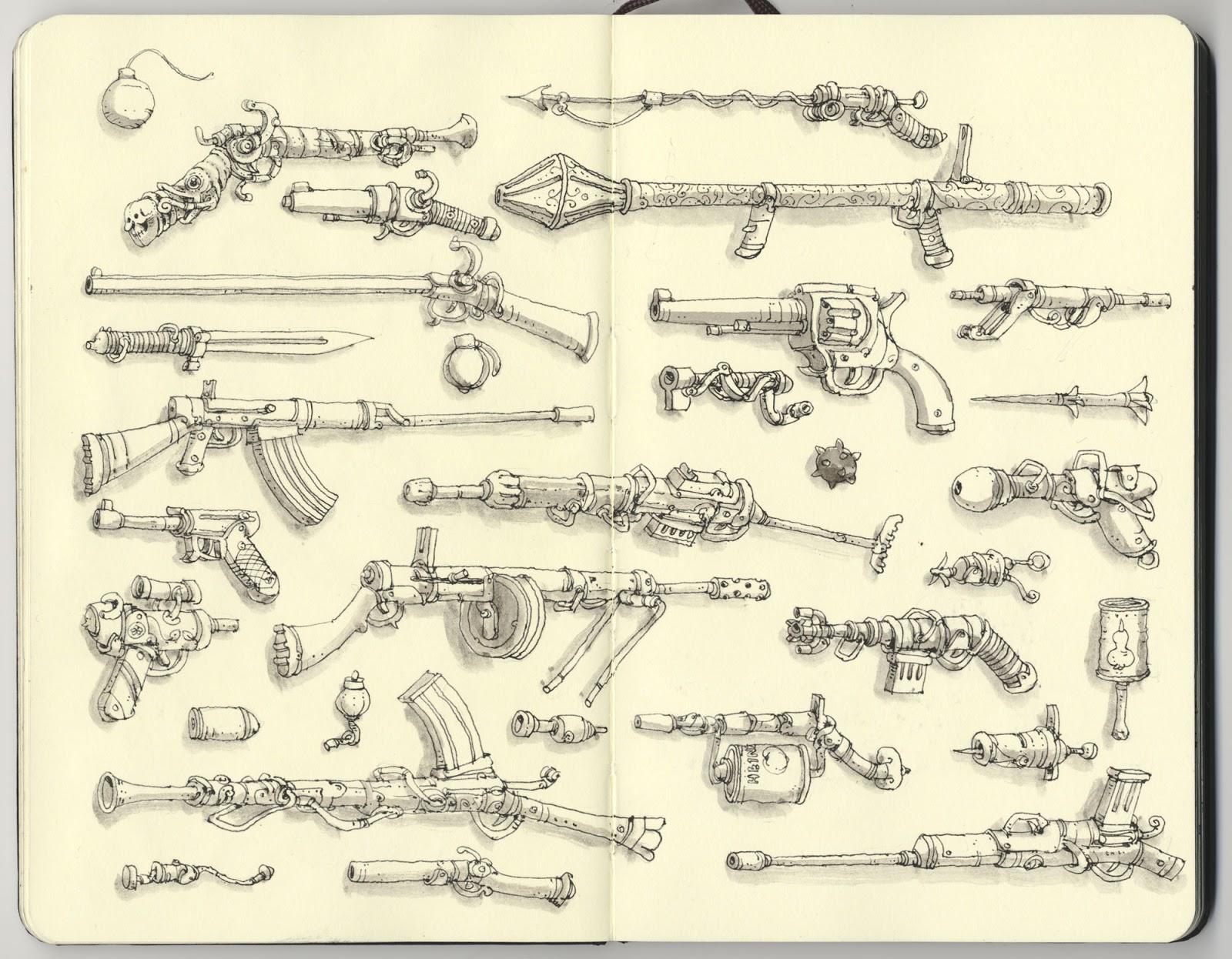 Mattias Adolfsson sketch illustration 9