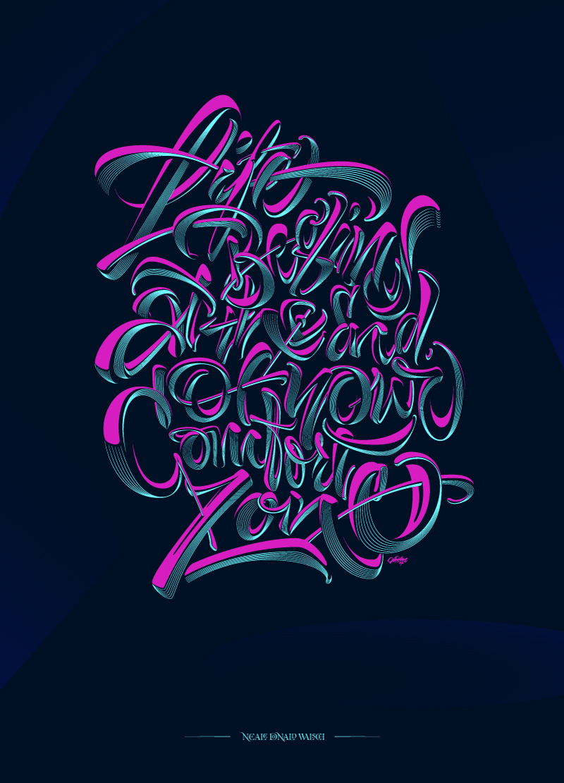 best of lettering 3