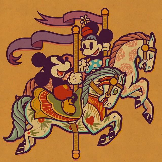 dave quiggle tattoo illustration 2