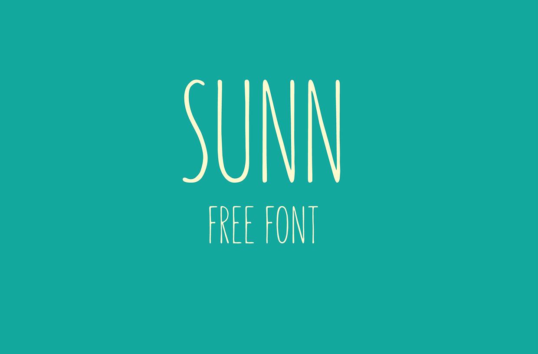 fuente tipografica sunn 1-1