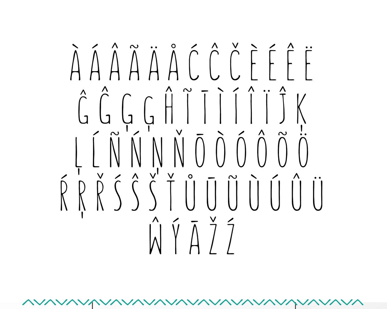 fuente tipografica sunn 1