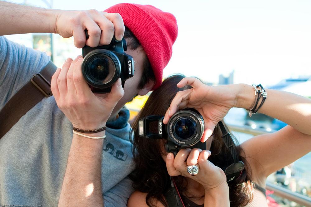 tomando-fotos