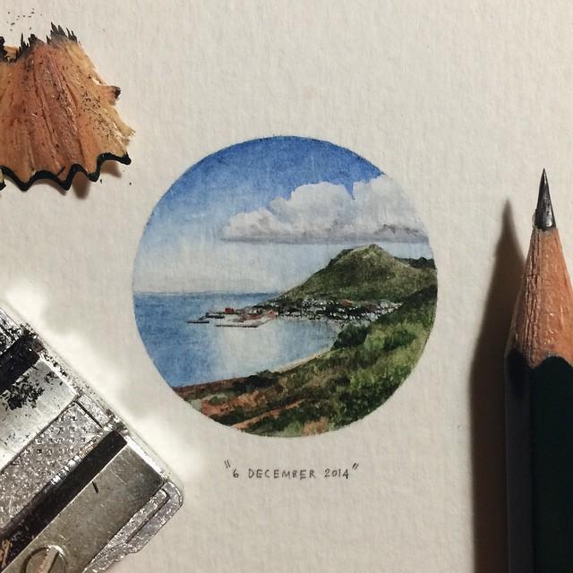 Lorraine Loots mini paintings 3