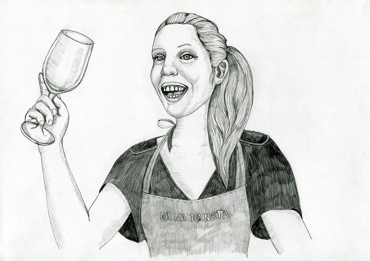 Ana cabello illustration 3