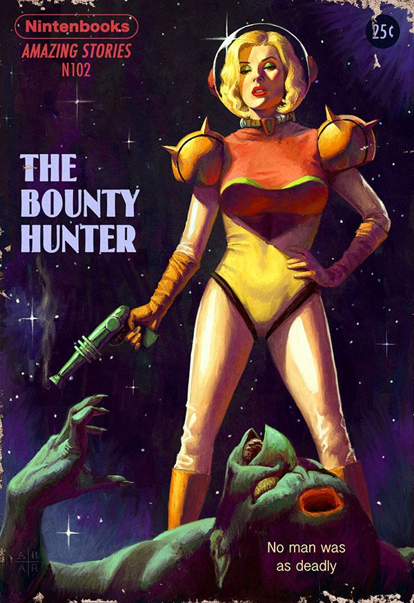 Metroid, tHE BOUNTY HUNTER - NINTENDOBOOKS