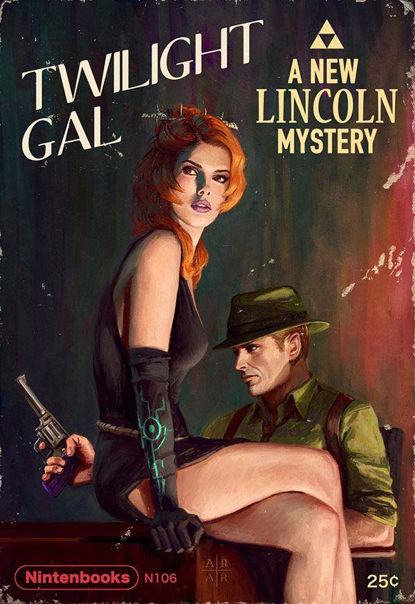 tWILIGHT GAL LINCOLN MYSTERY NINTENDOBOOKS