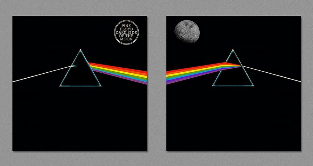 Dark side of album art 7