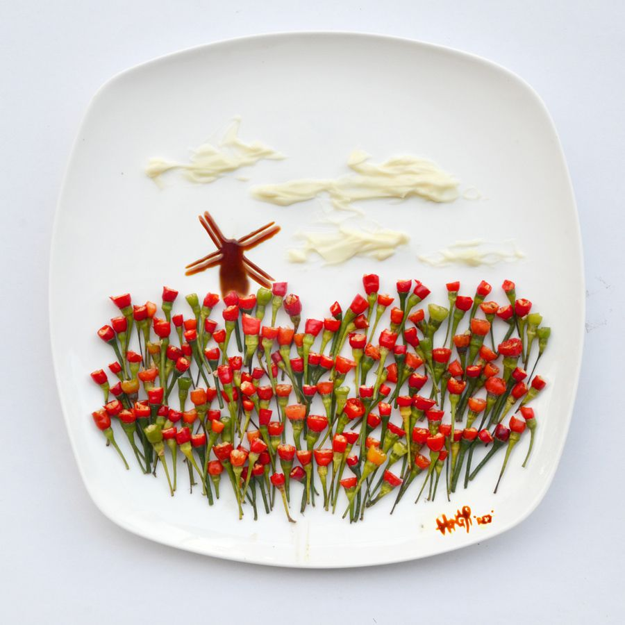 Hong Yi food creative 9