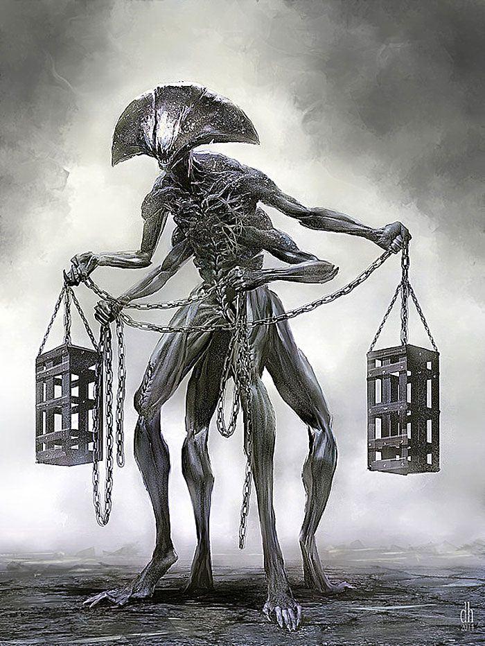 Libra illustration