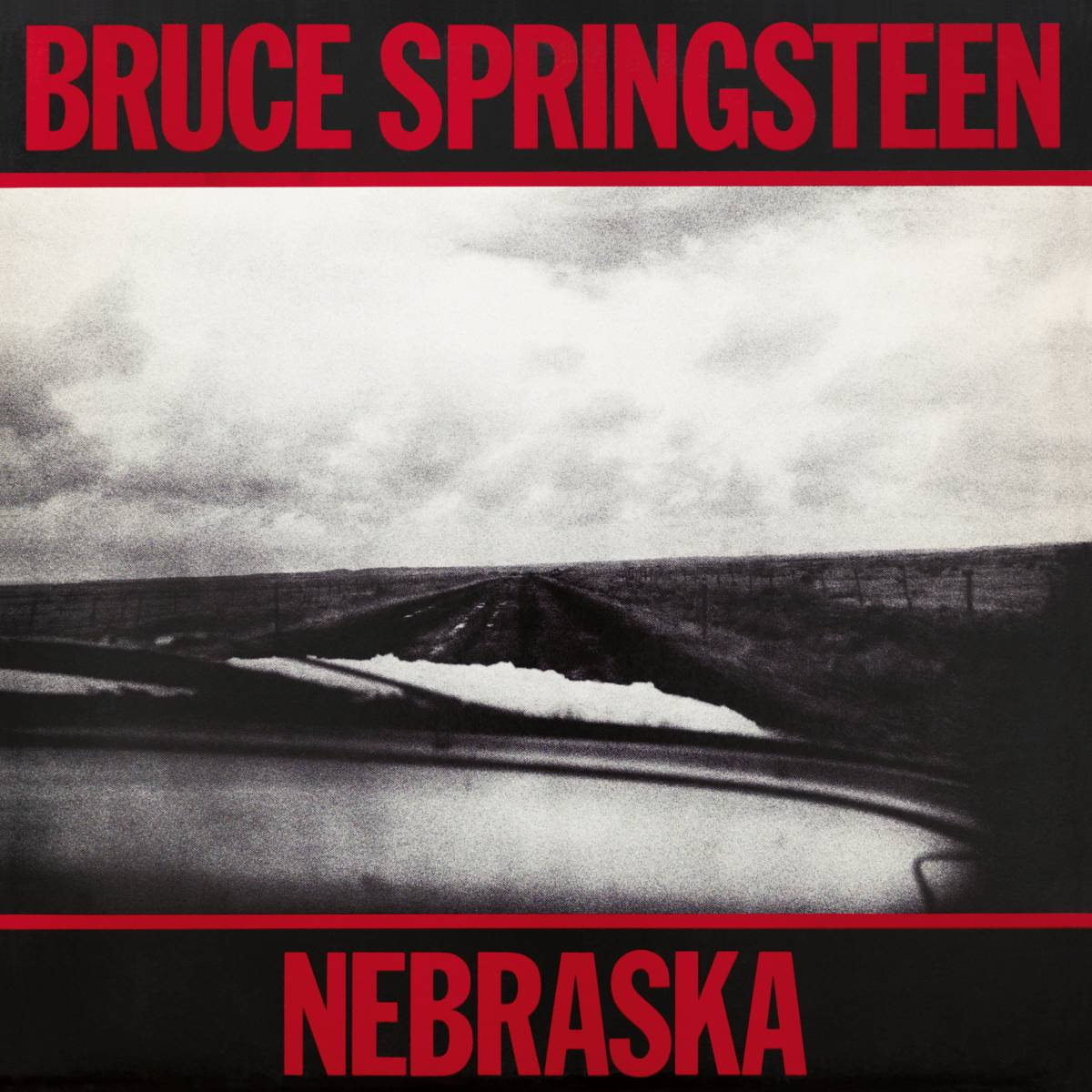 Springsteen_Nebraska portada de disco rock