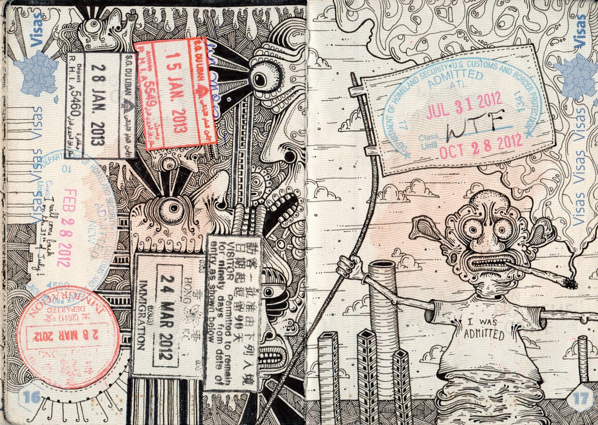 passport illustration 1