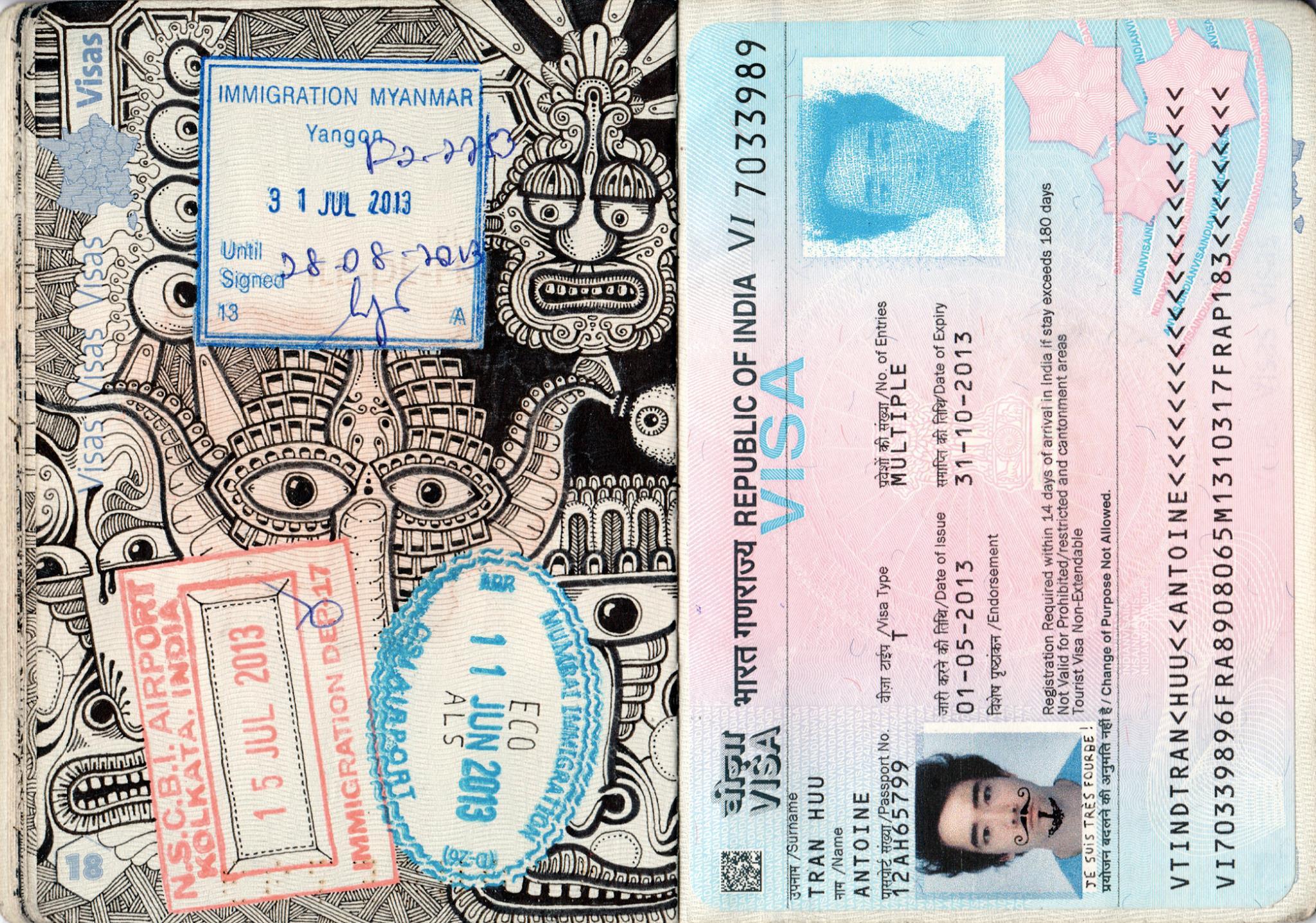 passport illustration 3