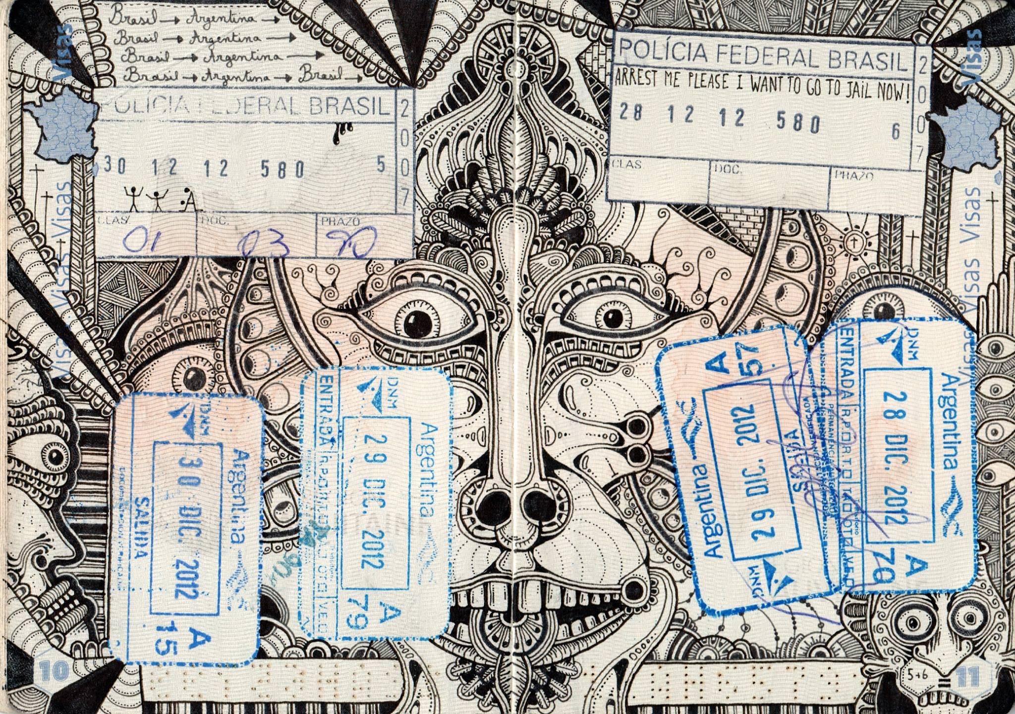 passport illustration 5