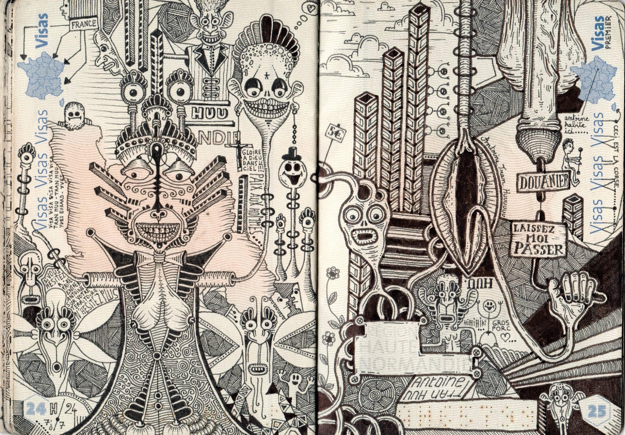 passport illustration 6