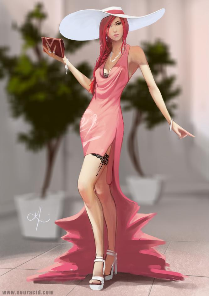 Karl liversidge girls illustration 5