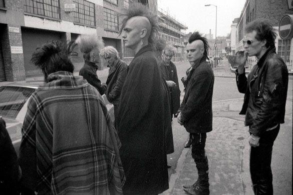 reunion de punks en londres