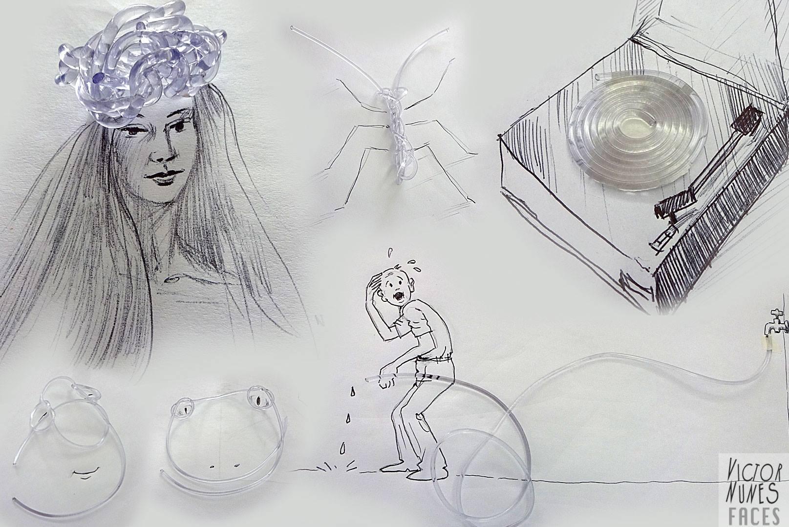 objetos con ilustracion oldskull 7