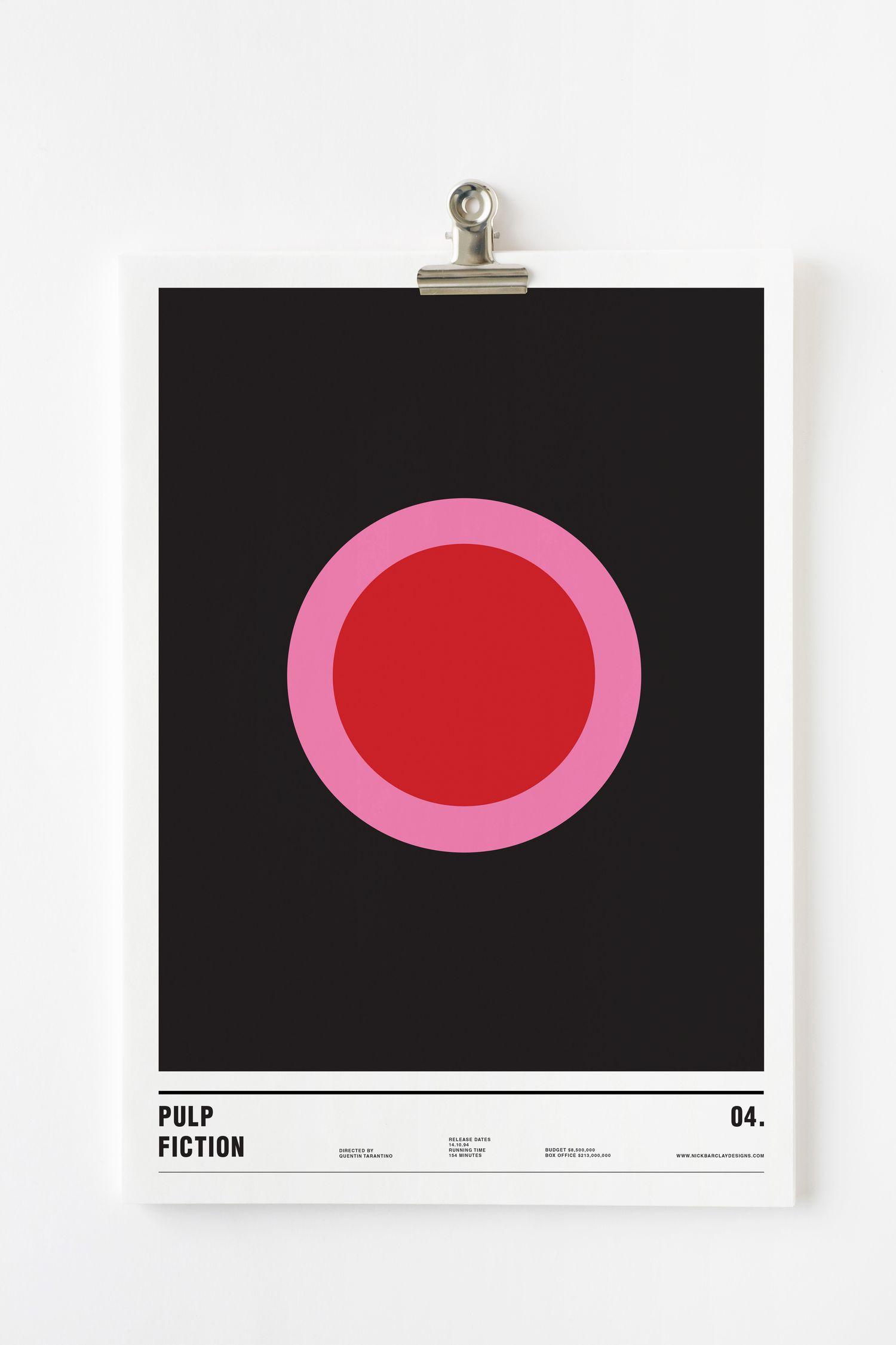 pulp fiction minimalism