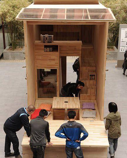 Casa 7 metros cuadrados oldskull 1