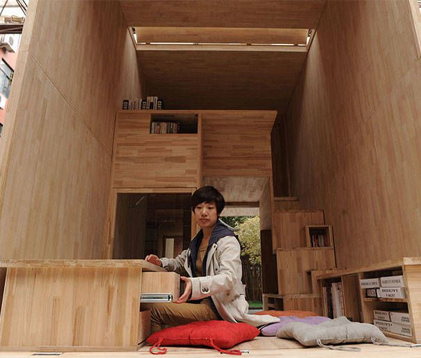 Casa 7 metros cuadrados oldskull 3