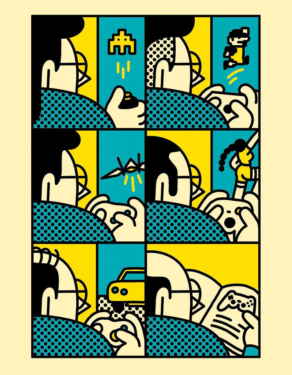 pop illustrations Simon Landrein 1