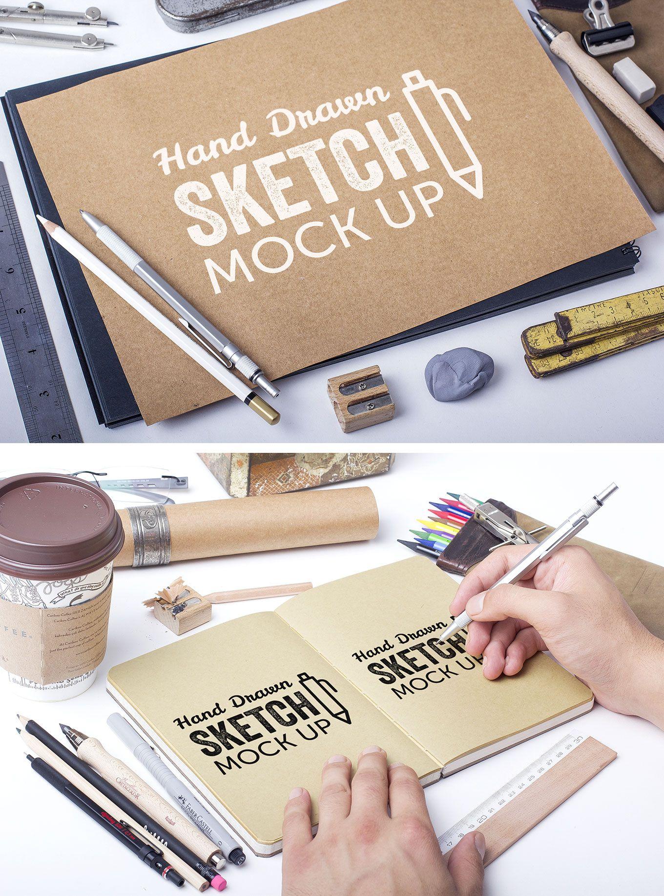 mockup gratuito para crear bocetos