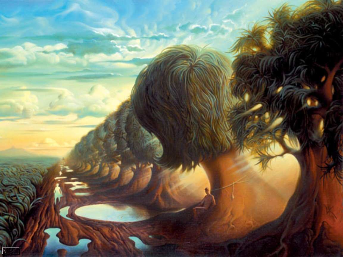 vladimir kush paintings 1