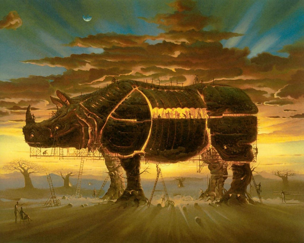 vladimir kush paintings 4