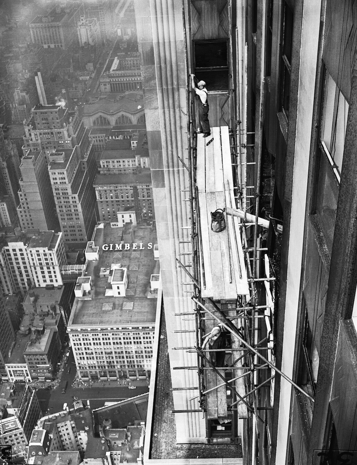 Workmen Fixing Empire State Building