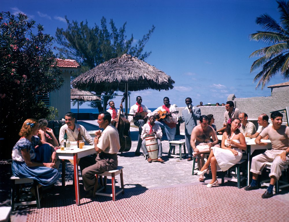 Guests At The Kastillito Club