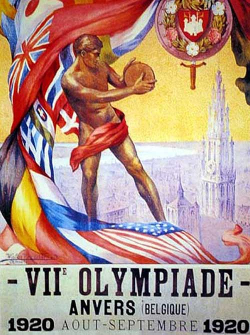 Olimpic games anveres 1920