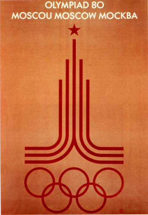 Olimpic games moscow 1980