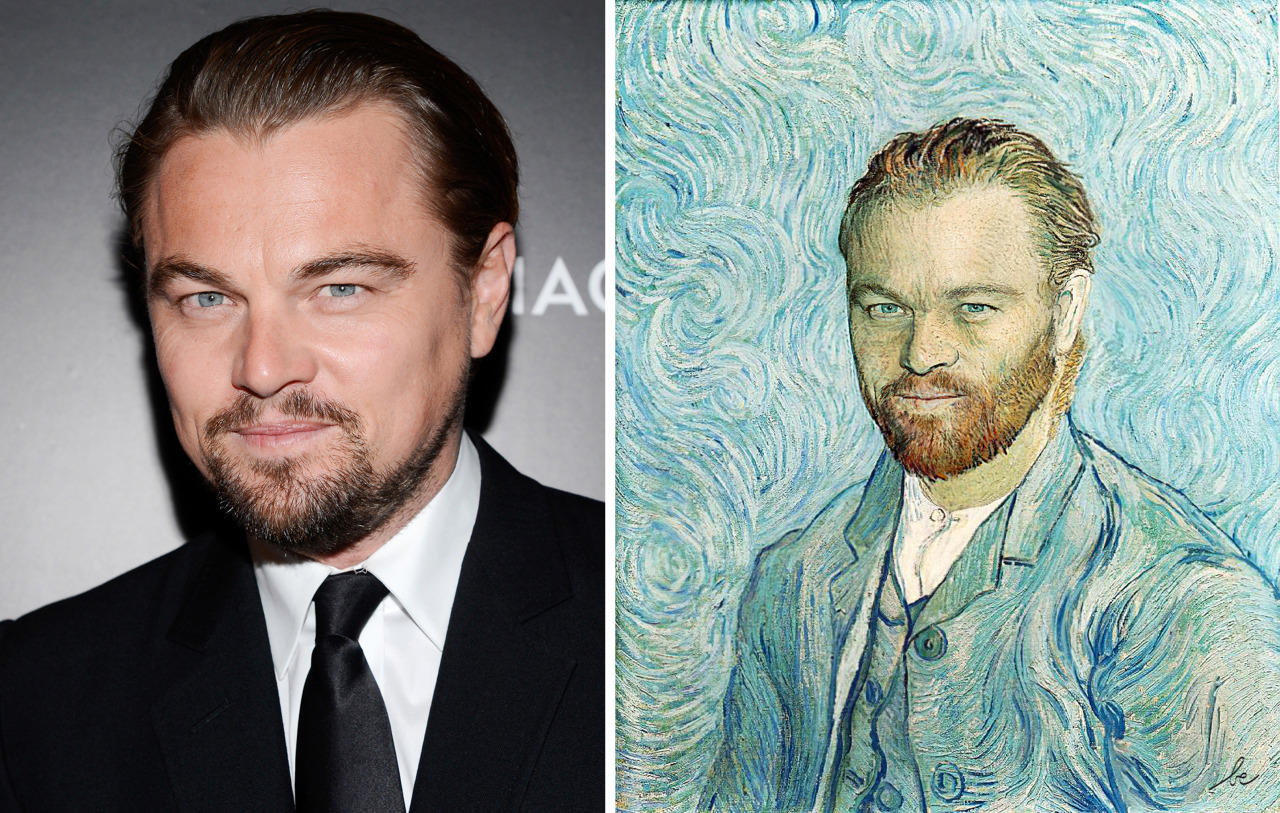celebrities in classics paintings 5