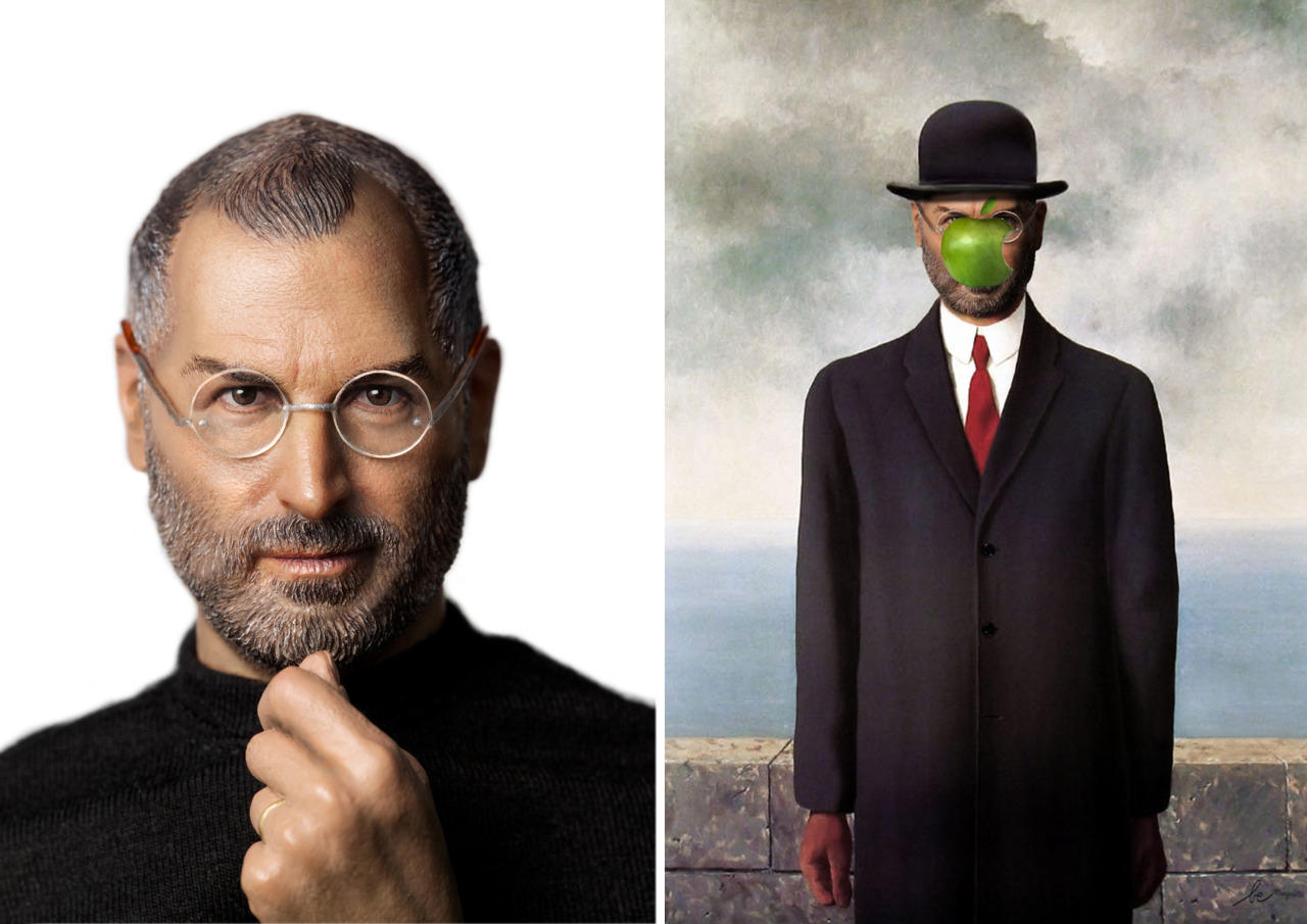 celebrities in classics paintings 8